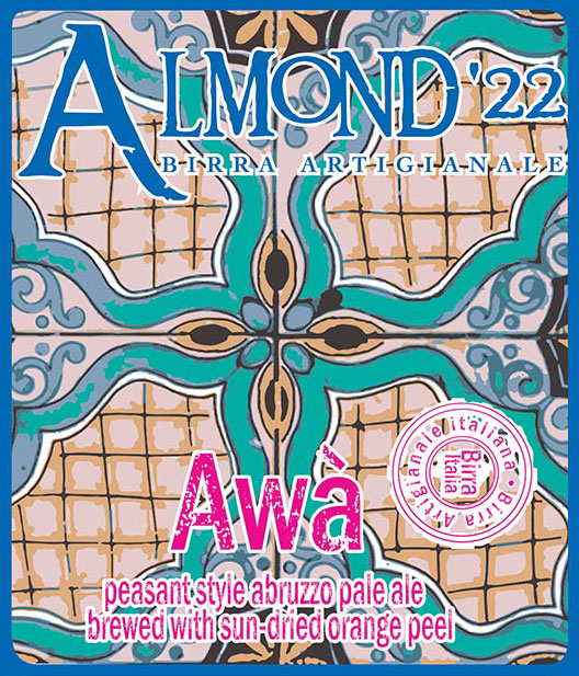 Awa label crop
