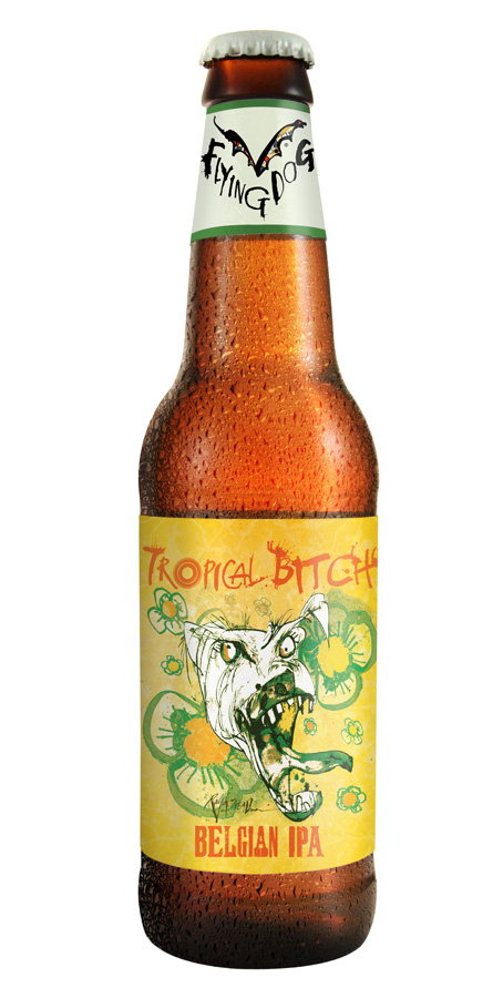 TropicalBitch 12oz bottle