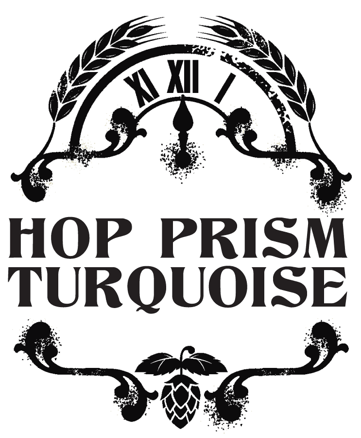 Hop Prism Turquoise label
