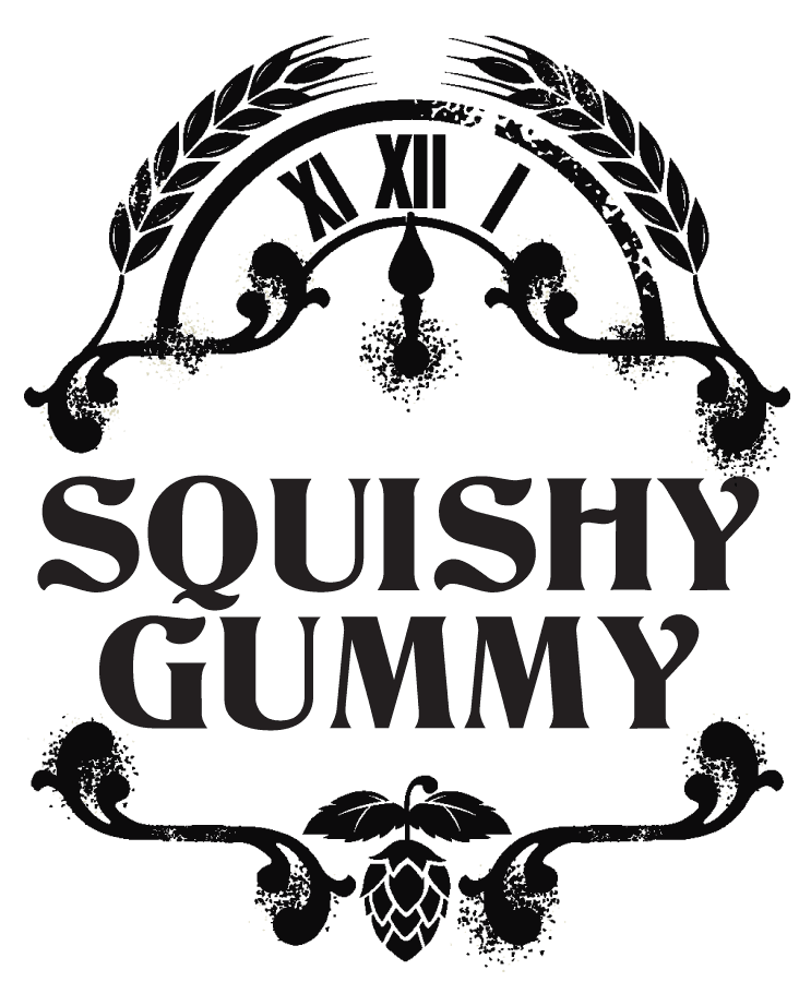 Squishy Gummy label