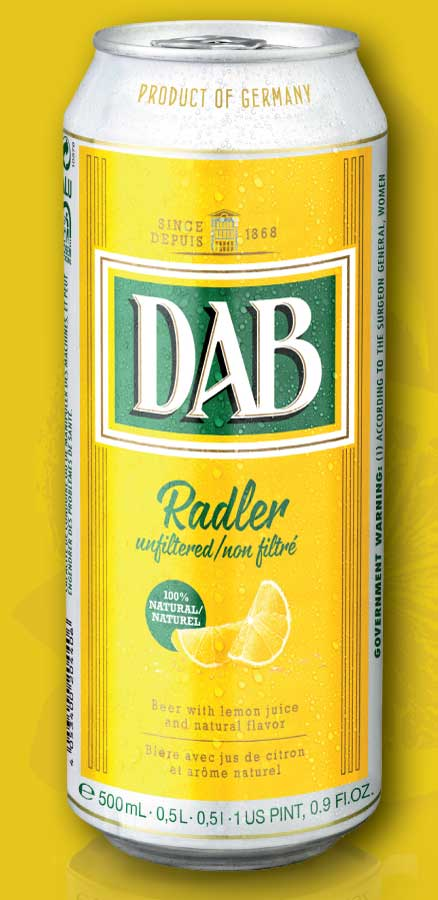 DAB Radler can
