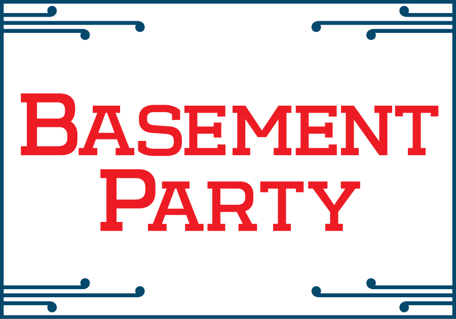 Basement Party label