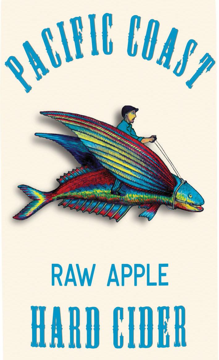 PCC RAW APPLE label