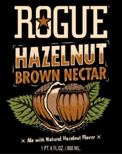 Hazelnut Brown label