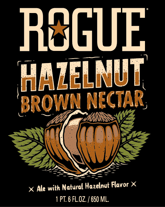 Hazelnut Brown label