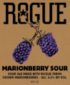 Marionberry label crop