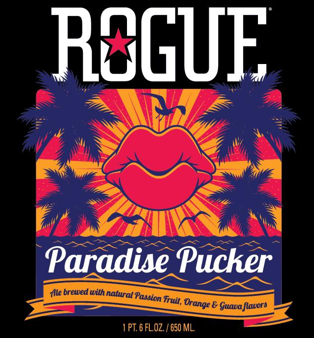 Paradise Pucker label crop