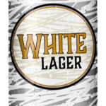 White Lager 16oz Can