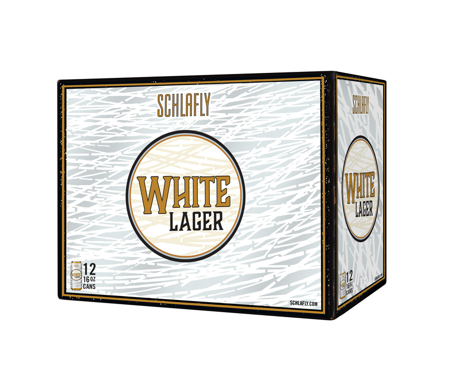 White Lager Can 12PK