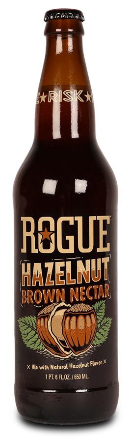 hazelnut brown nectar 22oz bottle
