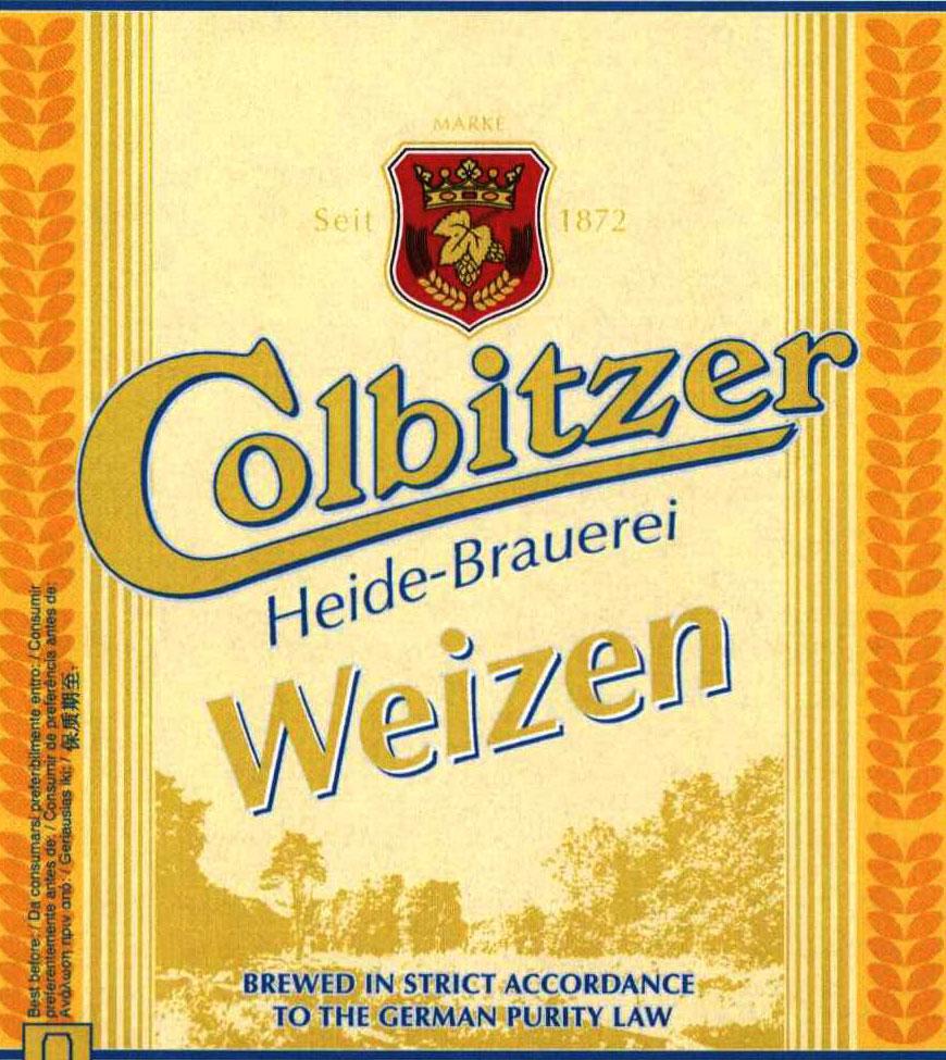 Colbitzer weizen label crop