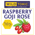 Raspberry Goji Rose feature logo