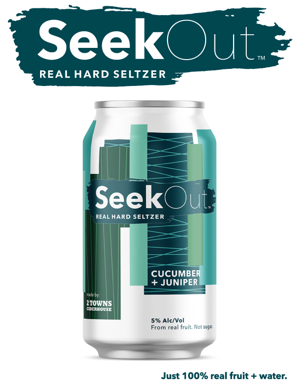 Seekout Cucumber and Juniper Feature Logo