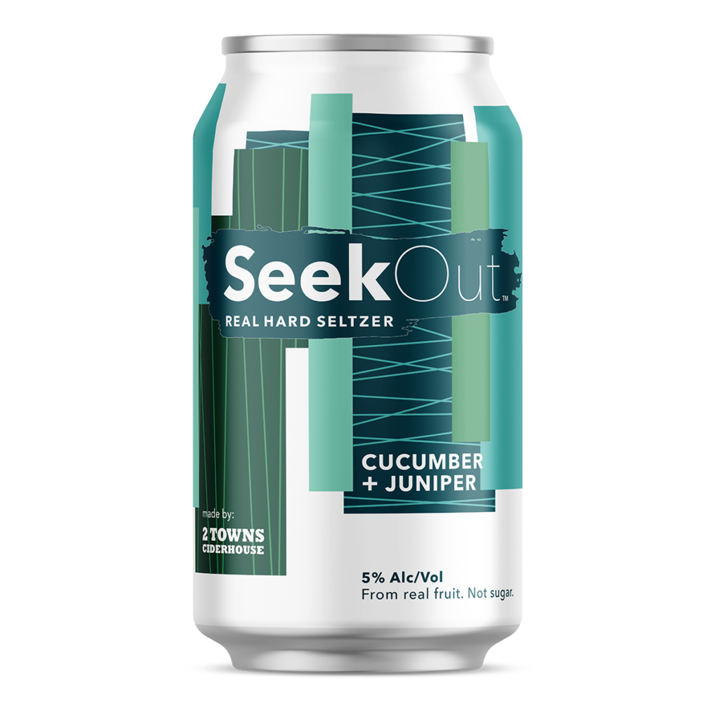 Seekout Cucumber and Juniper 12oz Can