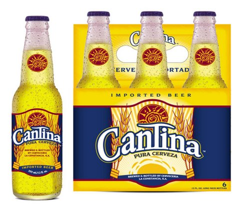 Cantina Bottle with 6pack