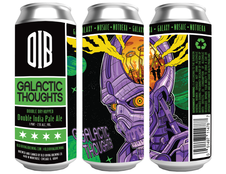 Galactic Thoughts 16oz Cans